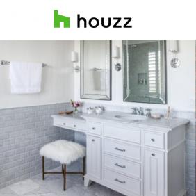 Houzz Bathroom of Week